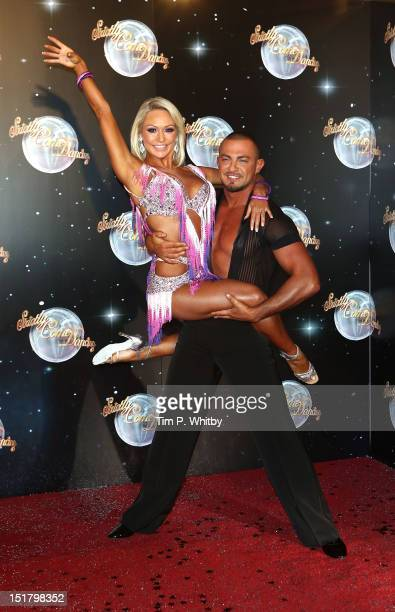 Kristina Rihanoff and Robin Windsor attend the launch of Strictly Come Dancing 2012 at BBC Television Centre on September 11 2012 in London England