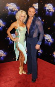 Kristina Rihanoff and Robin Windsor take part in BBC One Strictly Come Dancing 2011 at BBC Television Centre on September 7 2011 in London England