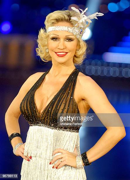 Kristina Rihanoff attends photocall to launch the Strictly Come Dancing Live Tour at MEN Arena on January 15 2010 in Manchester England