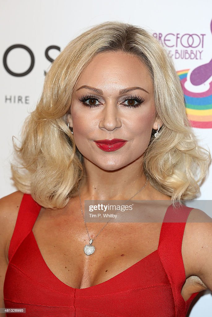 Kristina Rihanoff attends the 20th birthday party of Attitude Magazine at The Grosvenor House Hotel on March 29, 2014 in London, England.