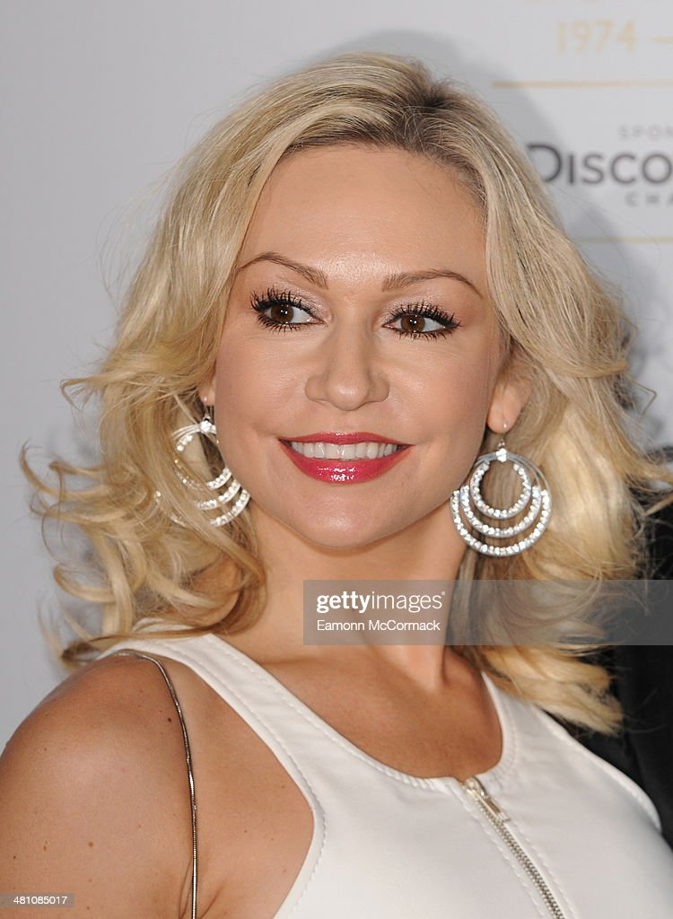 Kristina Rihanoff attends the Broadcasting Press Guild Awards sponsored by The Discovery Channel at Theatre Royal on March 28, 2014 in London, England.