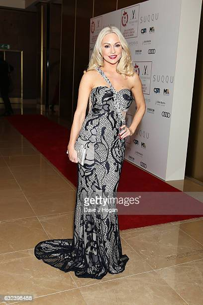 Kristina Rihanoff attends the Critics' Circle Film Awards at The Mayfair Hotel on January 22 2017 in London England