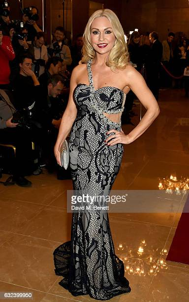 Kristina Rihanoff attends The London Critics' Circle Film Awards at the May Fair Hotel on January 22 2017 in London England