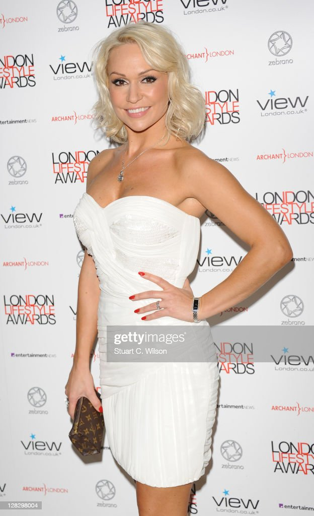 Kristina Rihanoff attends the London Lifestyle Awards 2011 at Park Plaza Riverbank Hotel on October 6, 2011 in London, England.