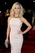 Kristina Rihanoff attends the National Television Awards at the 02 Arena on January 22 2014 in London England