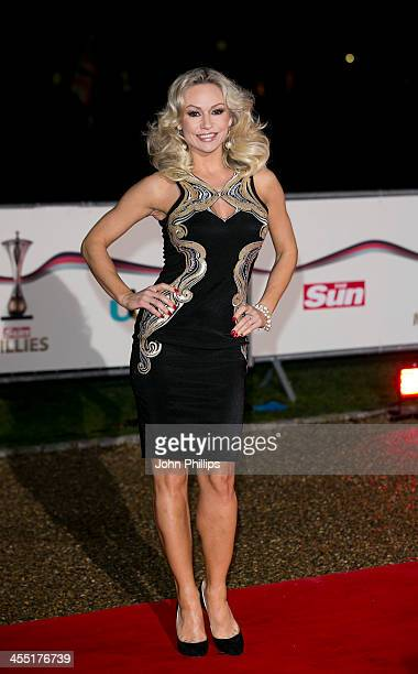Kristina Rihanoff attends The Sun Military Awards at National Maritime Museum on December 11 2013 in London England