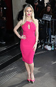 Kristina Rihanoff attends the TRIC Awards at Grosvenour House Hotel on March 10 2015 in London England
