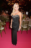 APPLIES Kristina Rihanoff attends the Woodside End of Summer party to benefit the Elton John AIDS Foundation sponsored by Chopard and Grey Goose at...