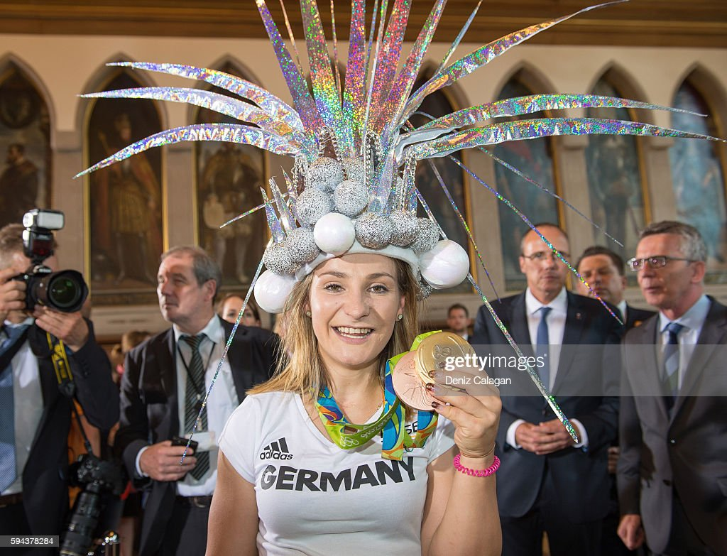 German Olympic Team Welcome Home Reception