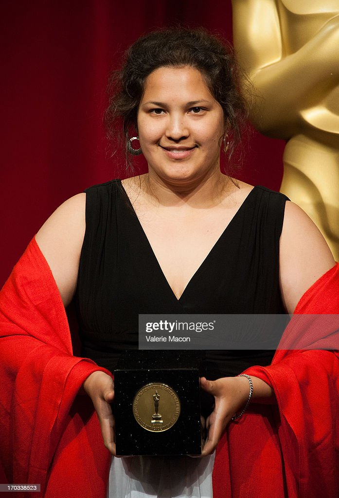 Kristina Yee attends The Academy Of Motion Picture Arts And Sciences' 40th Annual Student Academy Awards Ceremony at AMPAS Samuel Goldwyn Theater on June 8, 2013 in Beverly Hills, California.