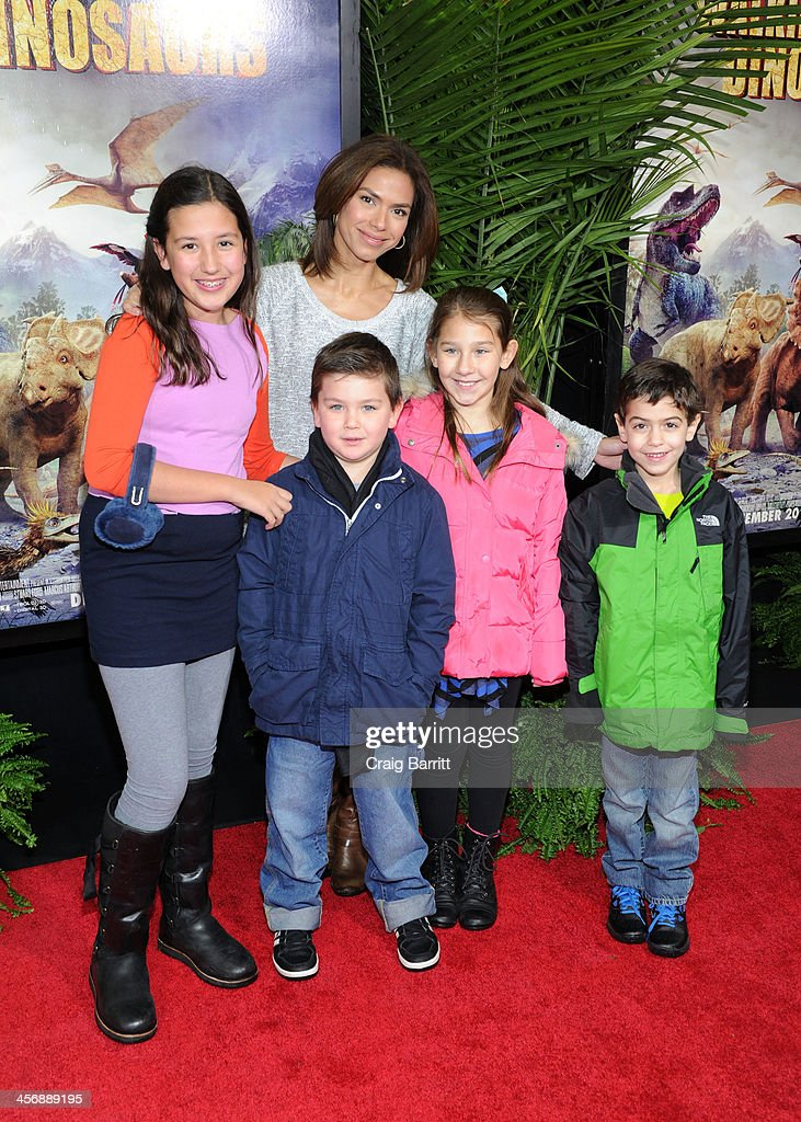 Kristine Johnson attends the 'Walking With Dinosaurs' screening at Cinema 1, 2 & 3 on December 15, 2013 in New York City.