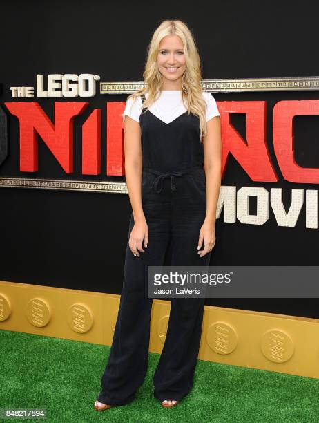 Kristine Leahy attends the premiere of 'The LEGO Ninjago Movie' at Regency Village Theatre on September 16 2017 in Westwood California