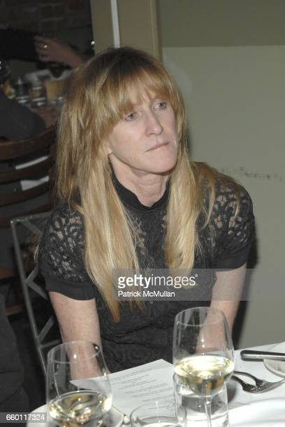 Kristine McKenna attends SHE Images of women by Wallace Berman and Richard Prince Opening at Michael Kohn Gallery on January 15 2009 in Beverley...