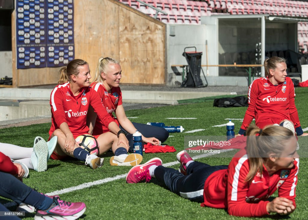 Norway Women's Training Session