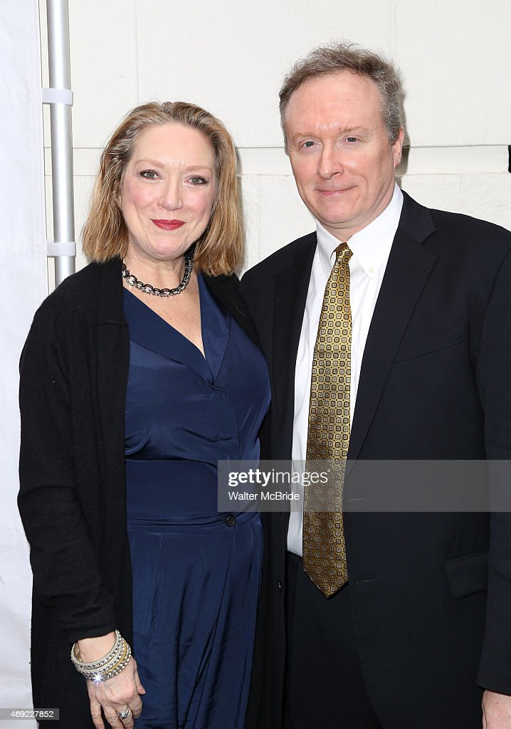 Kristine Nielsen and Brent Langdon attend the Broadway Opening Night performance of 'Gigi' at The Neil Simon Theatre on April 8 2015 in New York City