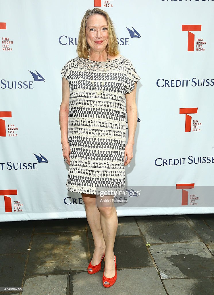 Kristine Nielsen attends Stephen Daldry's 2015 Tony Nomination Celebration at Barbetta Restaurant on May 28 2015 in New York City