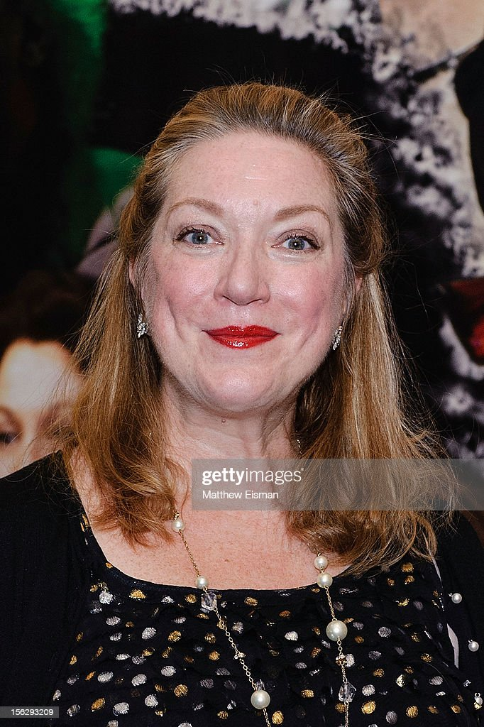 Kristine Nielsen attends the opening night of 'Vanya And Sonia And Masha And Spike' at Mitzi E. Newhouse Theater on November 12, 2012 in New York City.