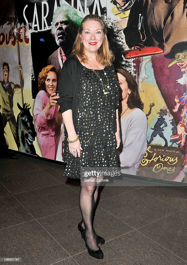 Kristine Nielsen attends the 'Vanya and Sonia and Masha and Spike,' press night at Mitzi E. Newhouse Theater on November 12, 2012 in New York City.