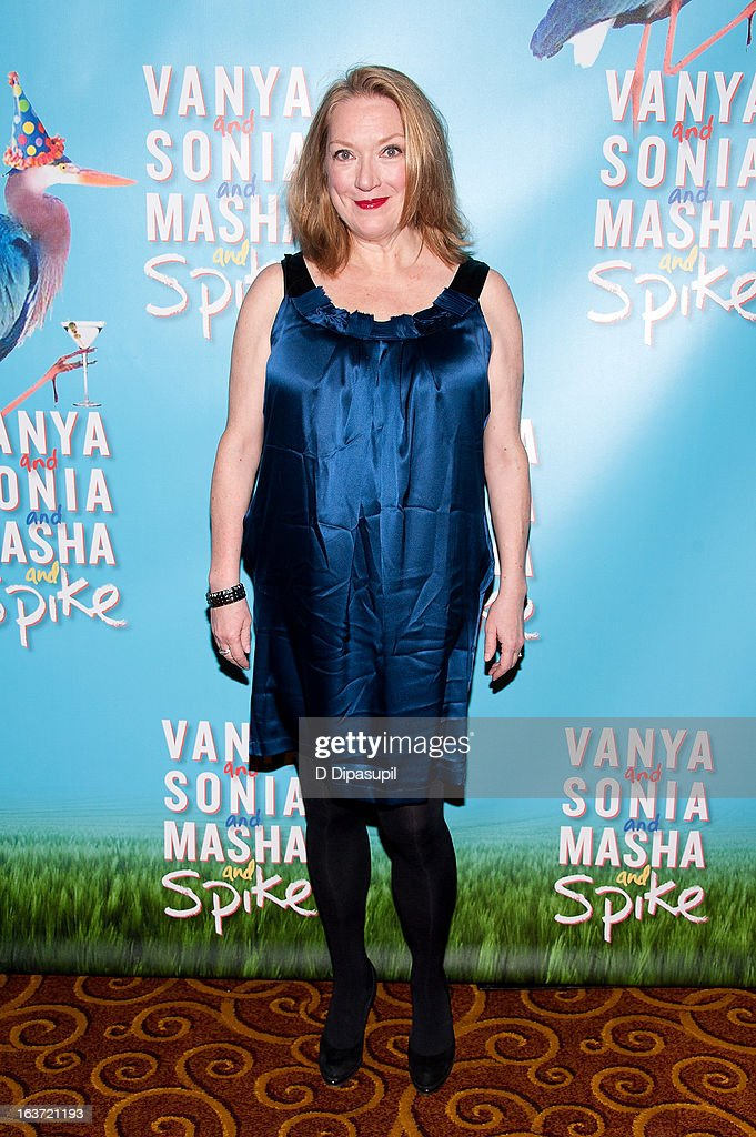Kristine Nielsen attends the 'Vanya And Sonia And Masha And Spike' Broadway Opening Night After Party at Gotham Hall on March 14, 2013 in New York City.