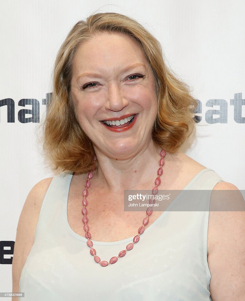 Kristine Nielsen attends 'What I Did Last Summer' opening night party at Signature Theatre Company's The Pershing Square Signature Center on May 17...