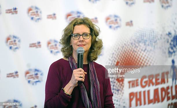 Kristine Sutherland attends the 2015 Great Philadelphia Comic Con at the Greater Philadelphia Expo Center on April 4 2015 in Oaks Pennsylvania