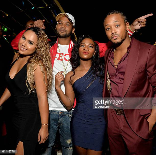 Kristinia DeBarge Boogie Dash Egypt Criss and Romeo Miller attend WE tv's Growing Up Hip Hop Season 2 Premiere Screening And After Party on September...