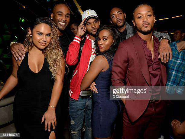 Kristinia DeBarge Datari Turner Boogie Dash Egypt Criss Andre King and Romeo Miller attend WE tv's Growing Up Hip Hop Season 2 Premiere Screening And...