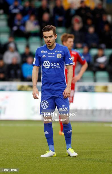 Kristinn Steindórsson of GIF Sundsvall during the Allsvenskan match between GIF Sundsvall and IFK Goteborg at Idrottsparken on May 22 2017 in...