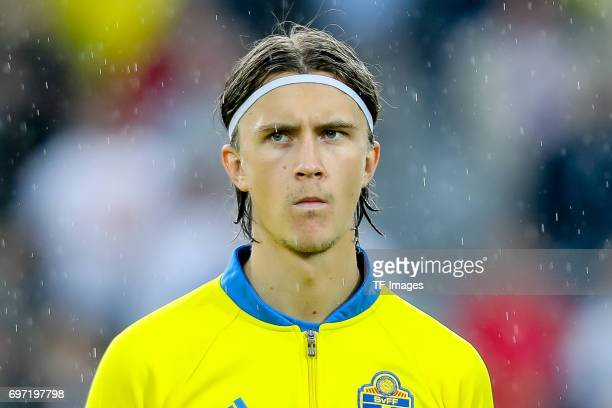 Kristoffer Olsson of Sweden looks on during the UEFA European Under21 Championship match between Sweden and England at Arena Kielce on June 16 2017...