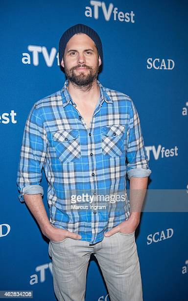 Kristoffer Polaha attends aTVfest 2015Day 1 screening of FOX's 'Backstrom' on February 5 2015 in Atlanta Georgia