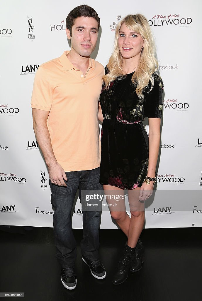 Kristos Andrews and Mackenzie Mason attend the 'A Place Called Hollywood' Official Wrap Party held at the Smoke Steakhouse on January 31, 2013 in West Hollywood, California.