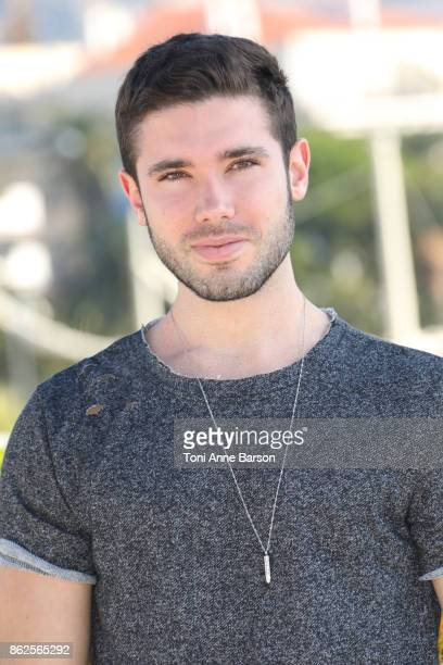 Kristos Andrews attends photocall for 'The Bay' as part of MIPCOM 2017 at the Palais des Festivals on October 17 2017 in Cannes France
