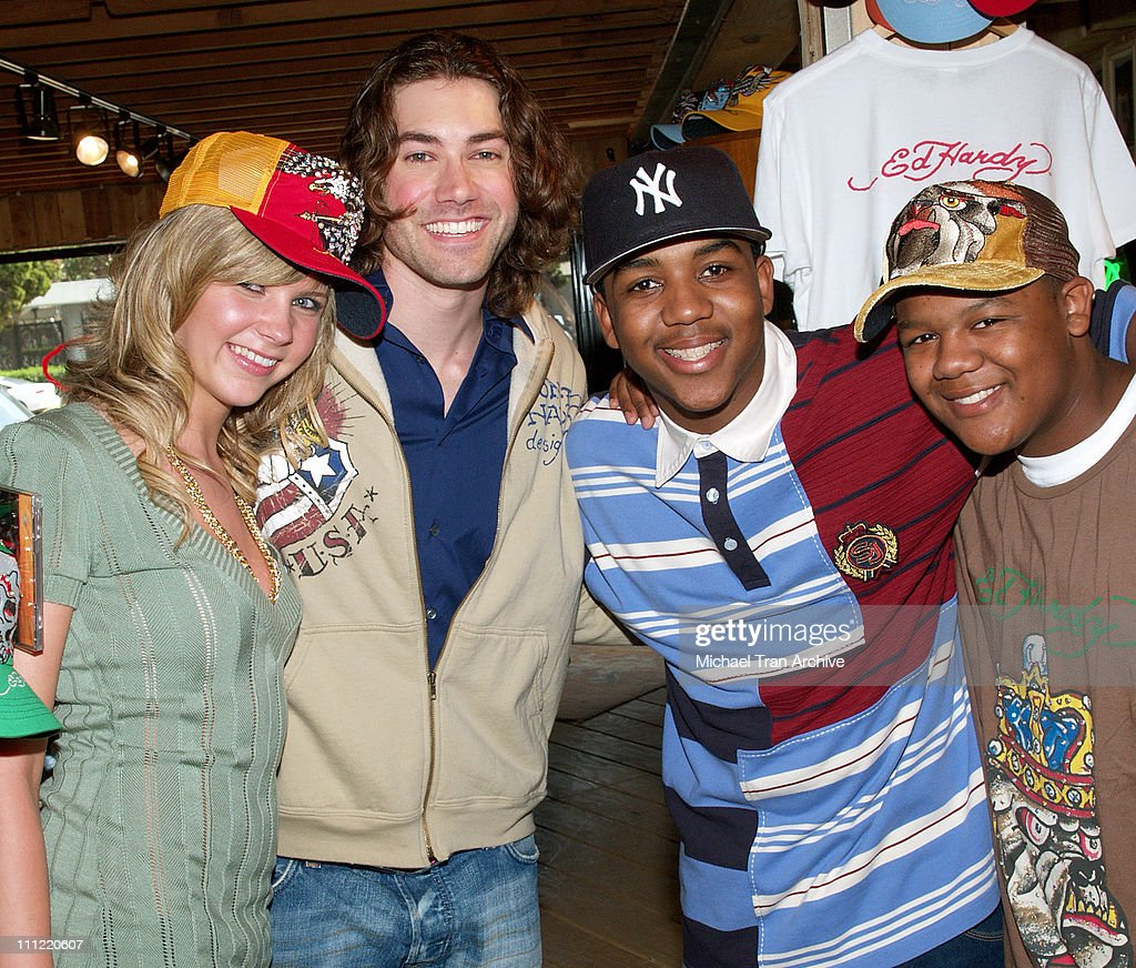 Kristy Frank Ace Young Christopher Massey and Kyle Massey