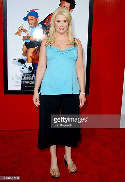 Kristy Swanson during 'Little Man' Los Angeles Premiere Arrivals at Mann National Theatre in Westwood California United States