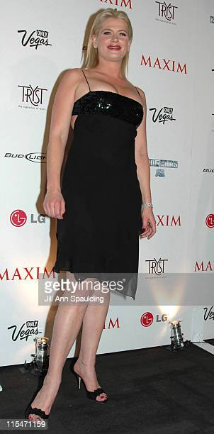 Kristy Swanson during Maxim Magazine 100th Birthday Celebration Arrivals at Tryst at Wynn Las Vegas in Las Vegas Nevada United States