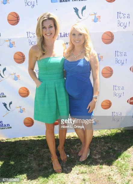 Kristyn Manning and Alana Curry at the Baby Shower For Actress Alana Curry Held at a private location on April 30 2017 in Palos Verdes California