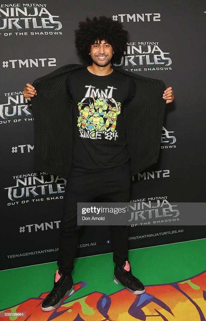 Krit Schmidt attends the Australian Premiere of Teenage Mutant Ninja Turtles 2 at Event Cinemas George Street on May 29, 2016 in Sydney, Australia.