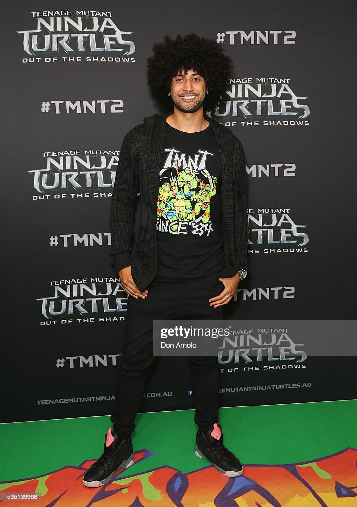 Krit Schmidt attends the Australian Premiere of Teenage Mutant Ninja Turtles 2 at Event Cinemas George Street on May 29, 2016 in Sydney, Australia.