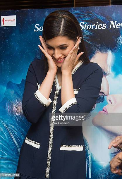 Kriti Sanon attending the photocall for 'Dilwale' in London