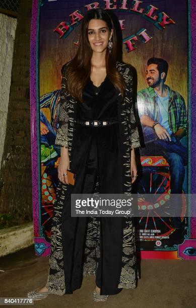 Kriti Sanon during the special screening of Bareilly Ki Barfi in Mumbai