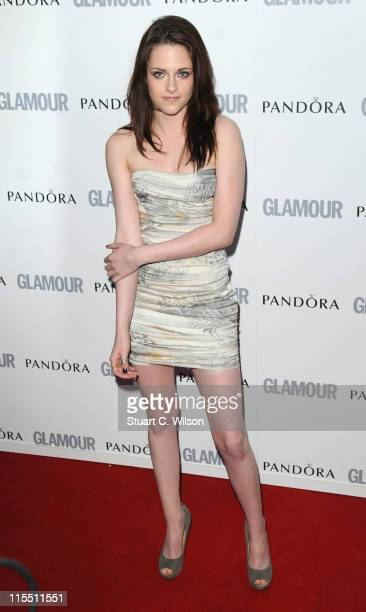 Kritsten Stewart attends Glamour Women Of The Year Awards at Berkeley Square Gardens on June 7 2011 in London England