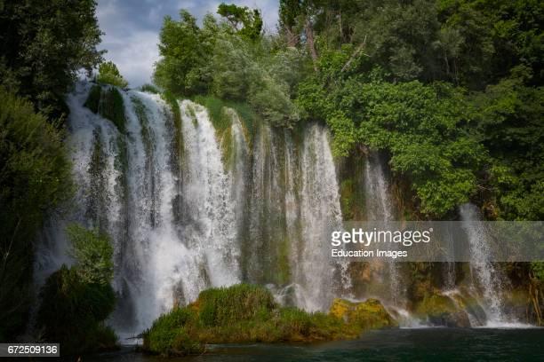 Krka National Park Nacionalni park Krka Dalmatia Croatia Roski Slap Waterfalls