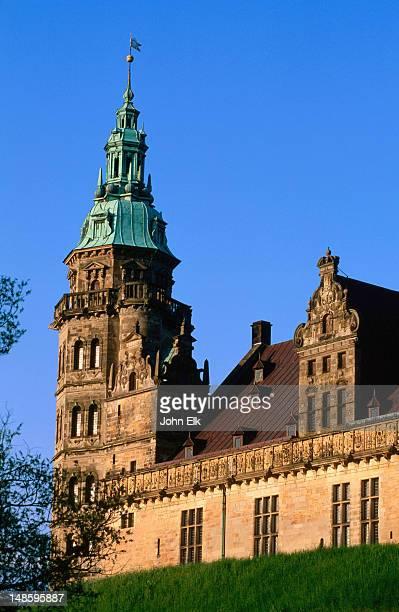 Kronenborg Slot corner tower.