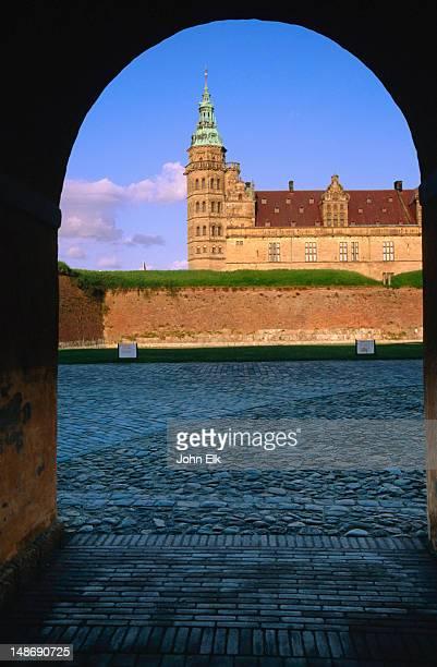 Kronenborg Slot from gate.