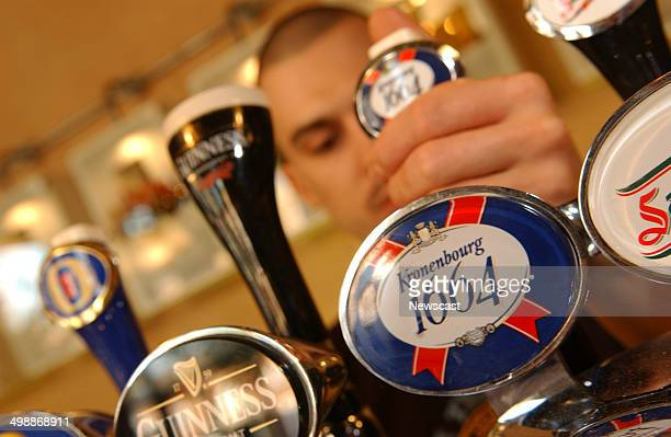 A Kronenbourg pump a Scottish and Newcastle brand
