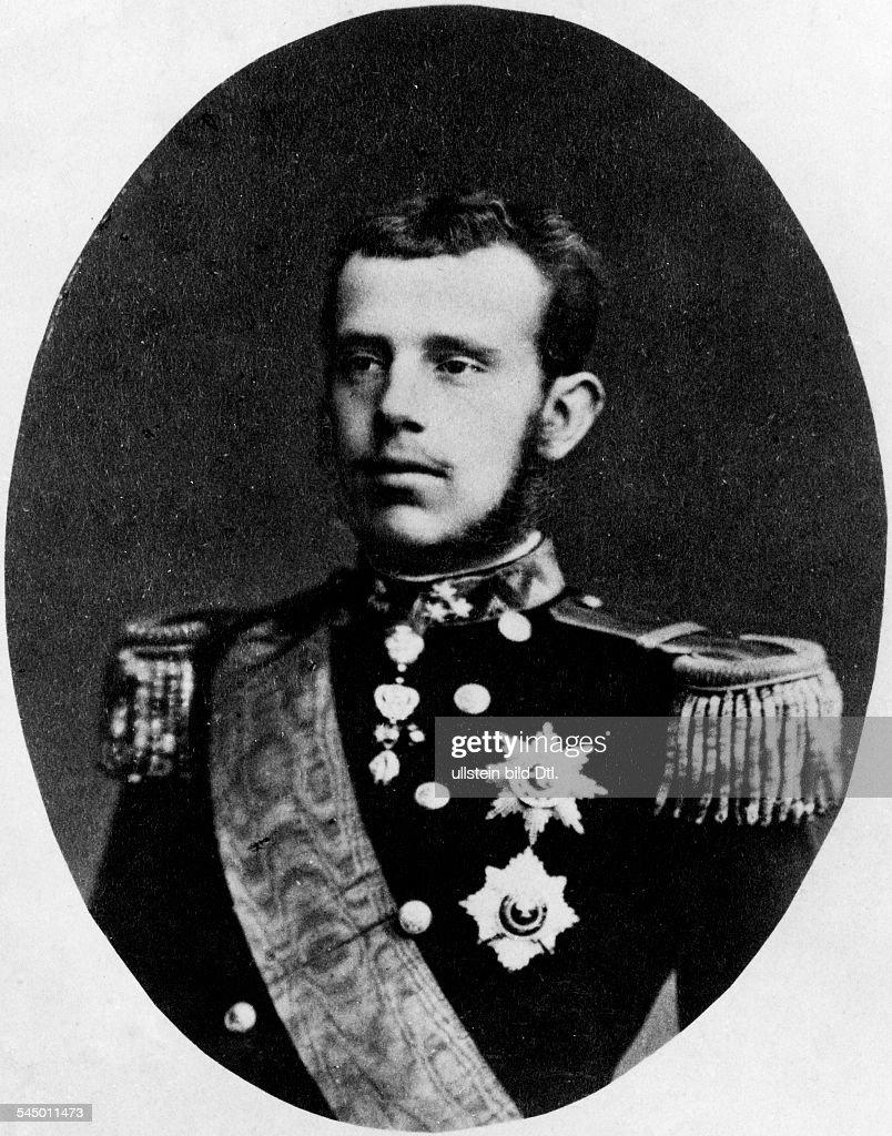 Kronprinz Rudolf von ÖsterreichUngarn *2108185830011889Thronfolger Oesterreich Portrait in Uniform in jungen Jahren undatiert identisch mit Bild