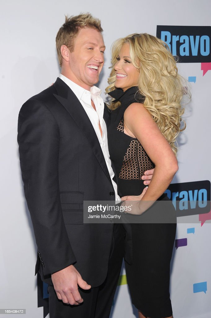 <a gi-track='captionPersonalityLinkClicked' href=/galleries/search?phrase=Kroy+Biermann&family=editorial&specificpeople=5085129 ng-click='$event.stopPropagation()'>Kroy Biermann</a> and Kim Zolciak attend the 2013 Bravo New York Upfront at Pillars 37 Studios on April 3, 2013 in New York City.