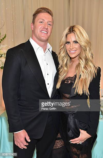 Kroy Biermann and Kim Zolciak Biermann attend Kim Zolciak's Birthday Party on May 6 2016 in Atlanta Georgia