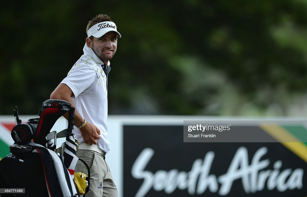 Kruger of South Africa looks on during the pro-am prior to the start of the Nelson Mandela Championship presented by ISPS Handa at Mount Edgecombe Country Club on December 10, 2013 in Durban, South Africa.