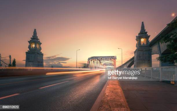 Krung Thep Bridge at Sunset